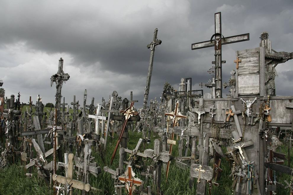 Siauliai, hill of crosses