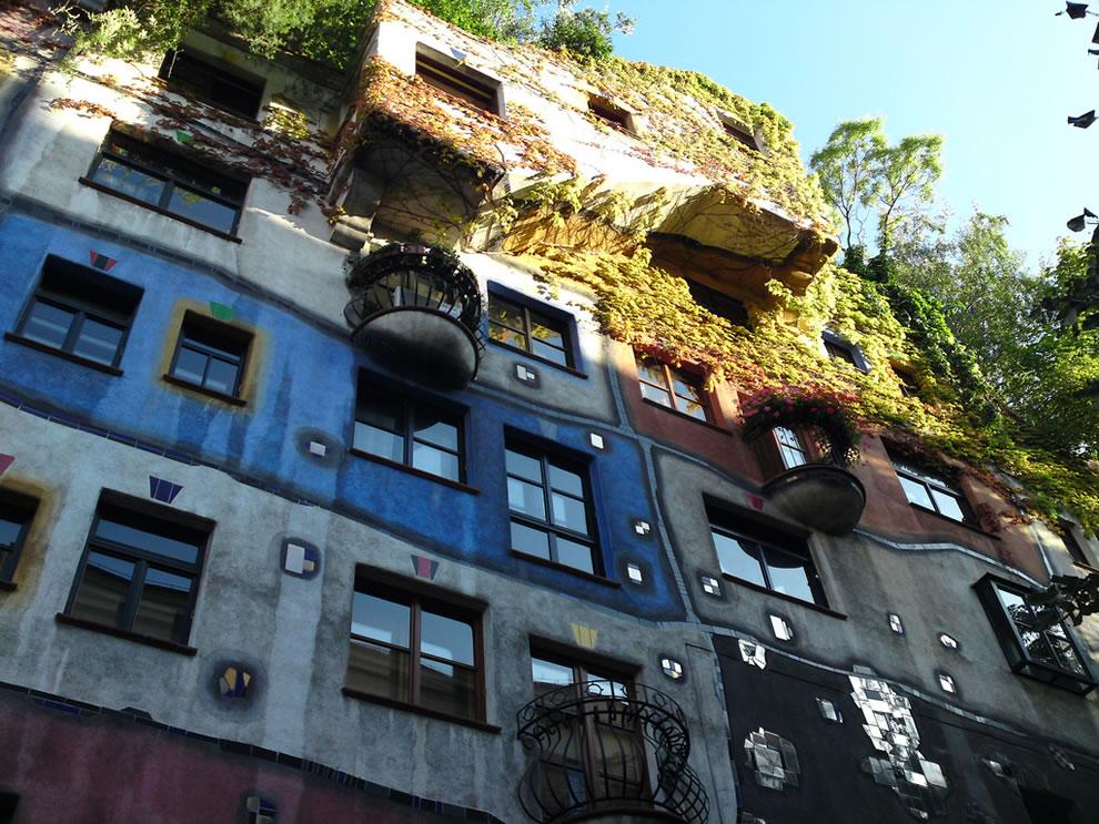 Vienna's Hundertwasserhaus