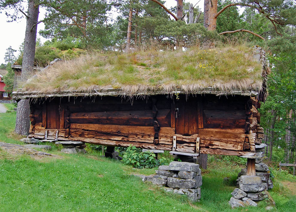 Norway storehouse built in 1600