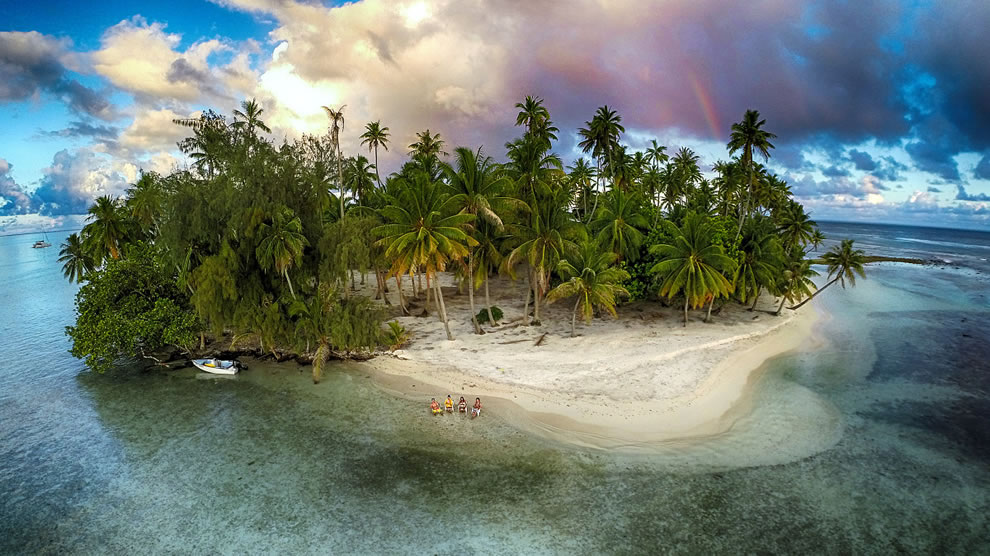 3rd Prize Winner in Category Nature Lost island, Tahaa, French Polynesia