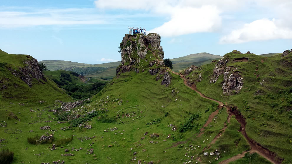 Fairy castle on Skye