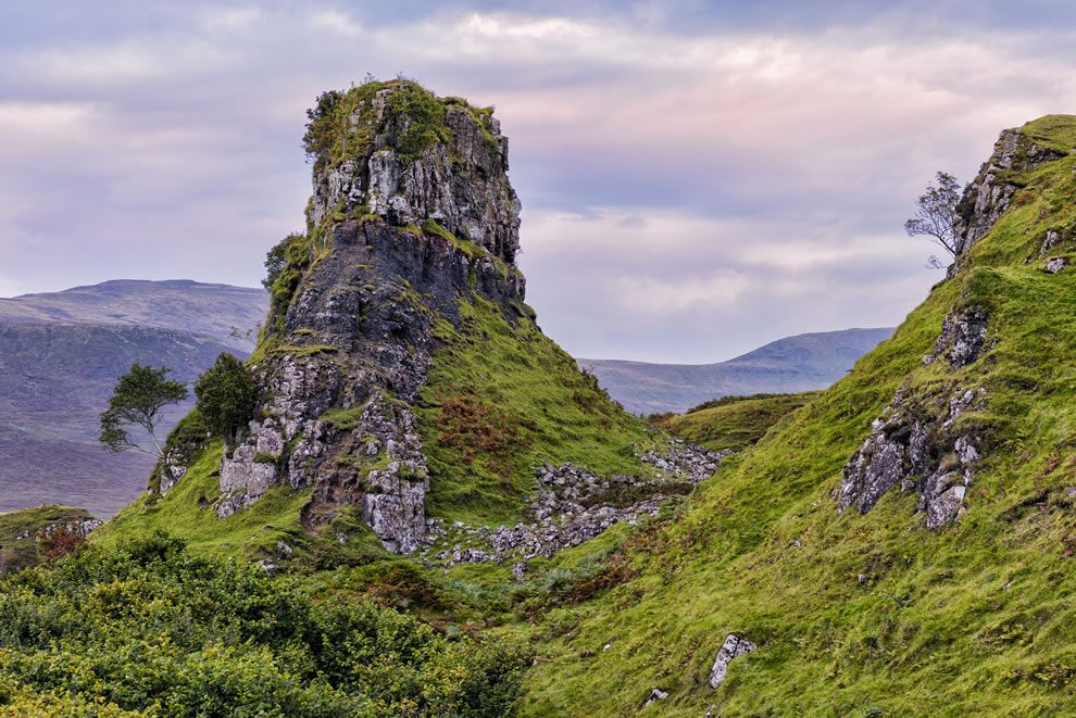 Isle of Skye The Fairy Glen Monster