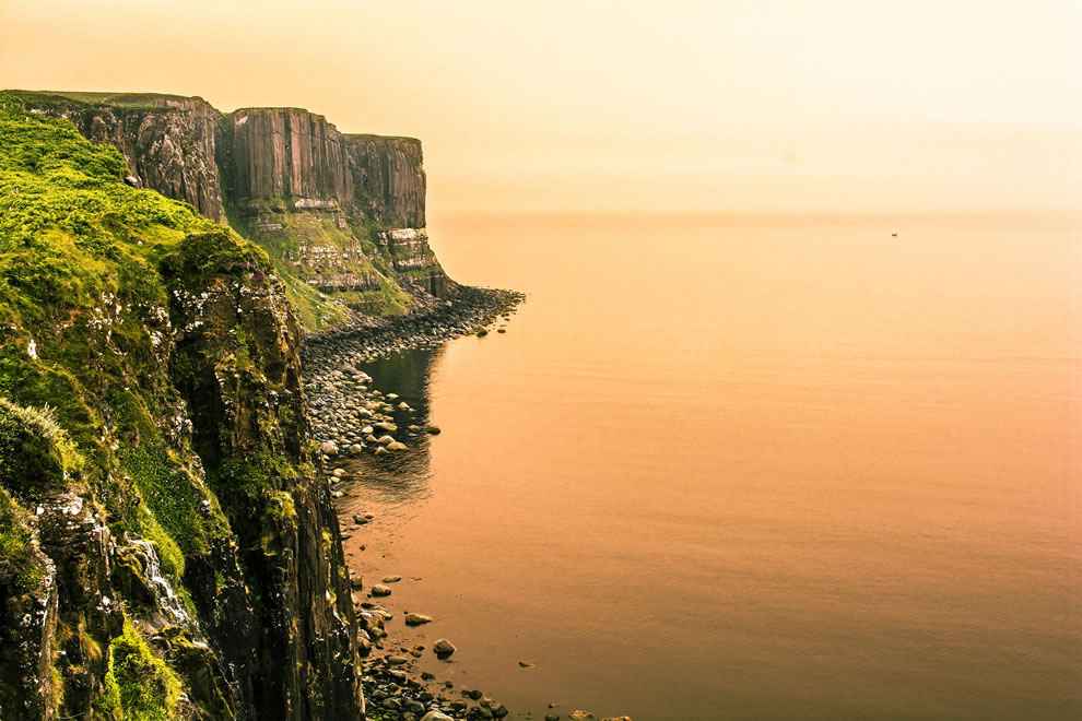Kilt Rock on Isle of Skye