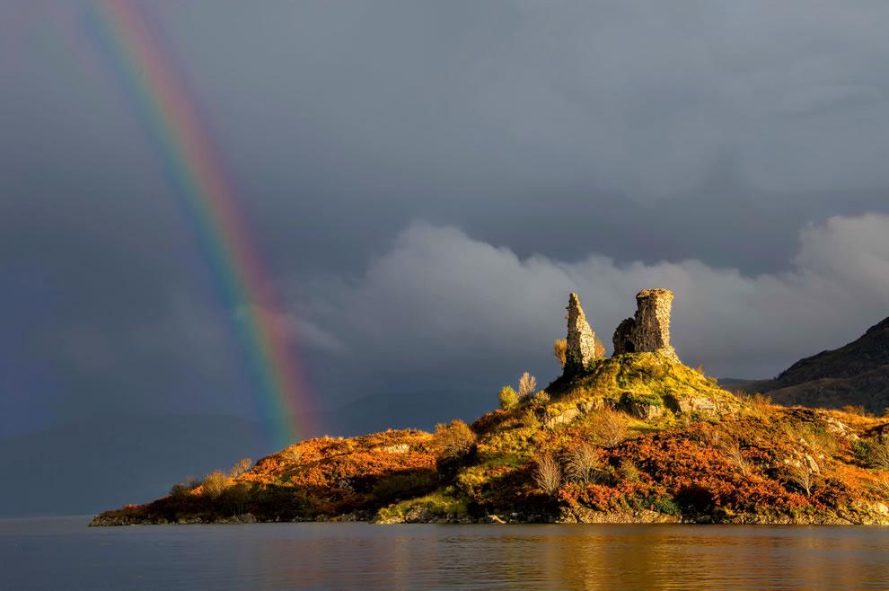 Kyleakin Castle, Skye