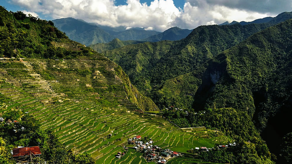 Rice terrace Batad, Ifugao, Philippines