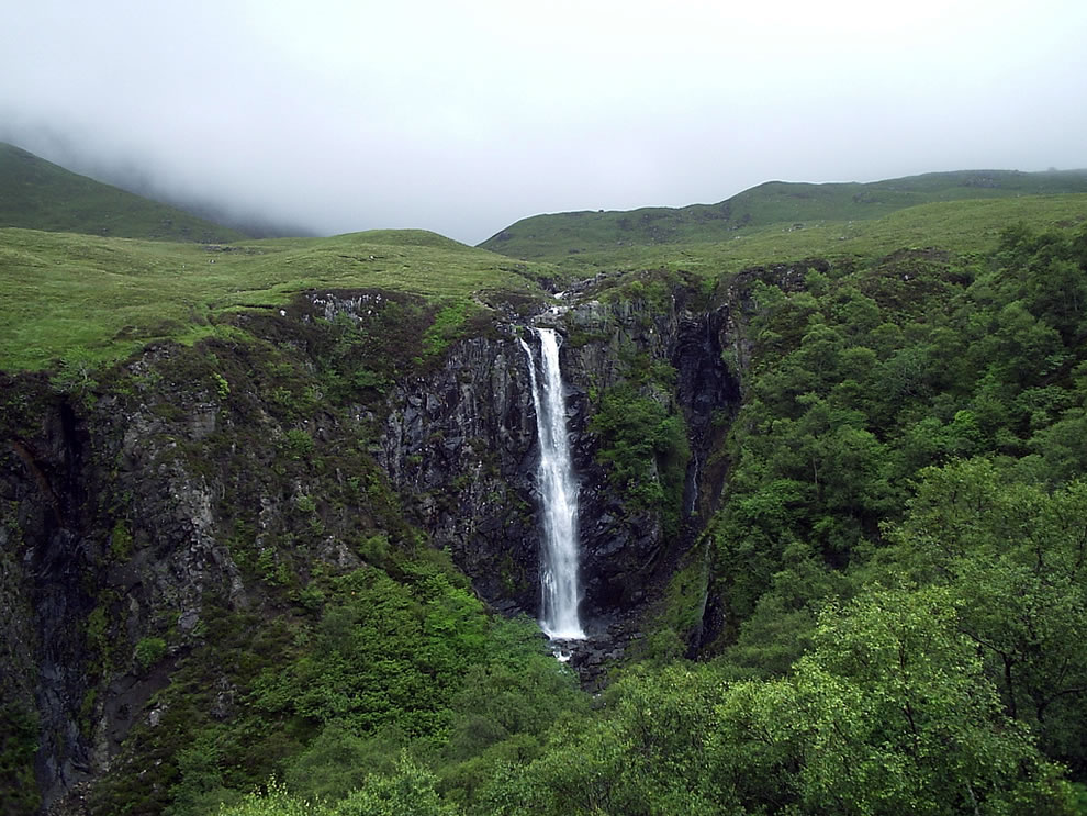 Skye waterfall