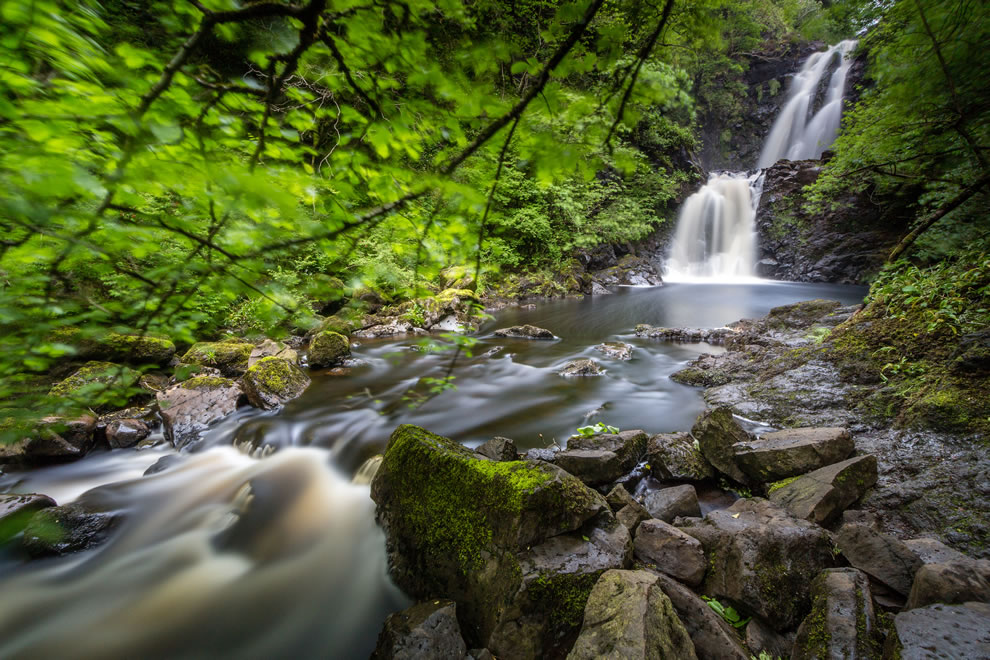 The Rha Falls, Skye