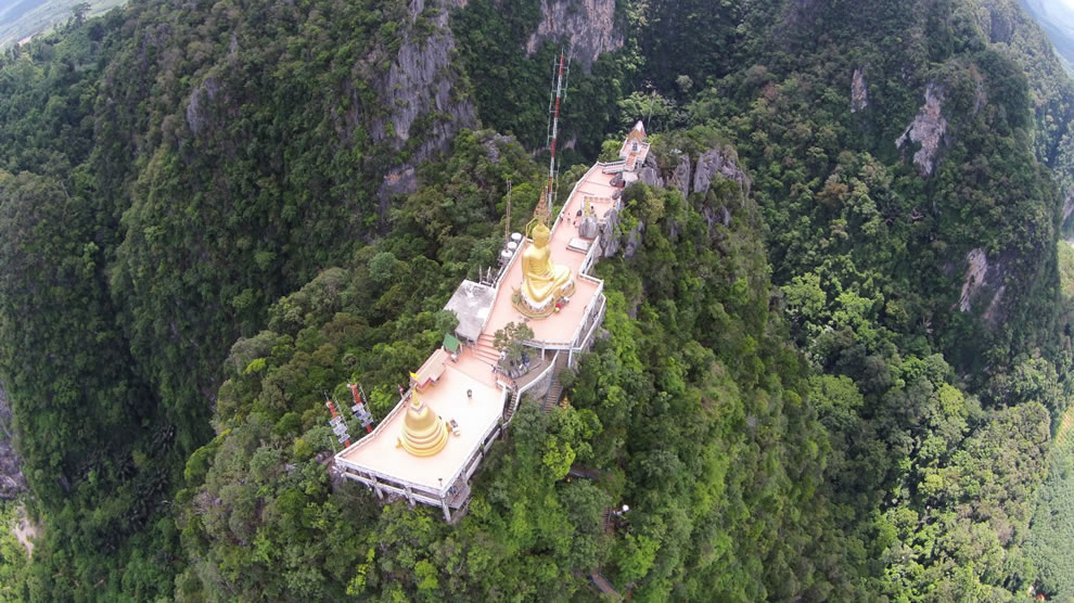Tiger Cave Temple in Krabi, Thailand