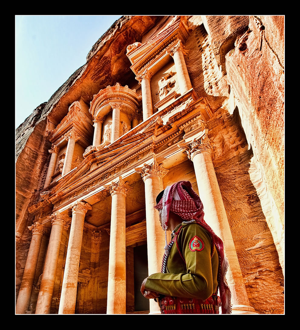 Jordan - Petra - Al-Khazneh - The Treasury