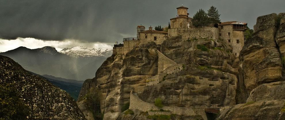 Greece - Meteora Varlaam Monastery