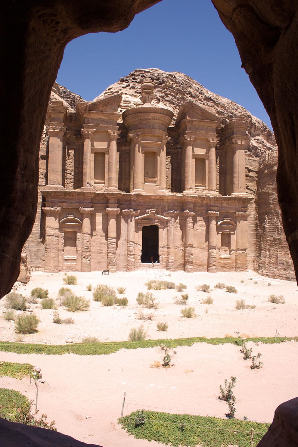 Petra Monastery Framed