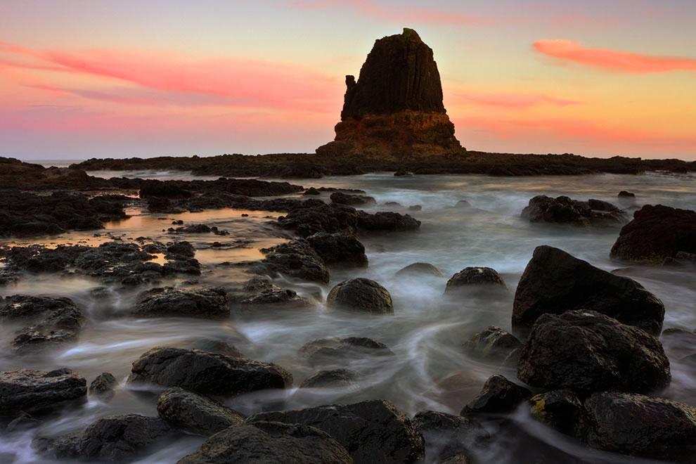 Pulpit Rock Sunset - Cape Schanck National Park, Australia