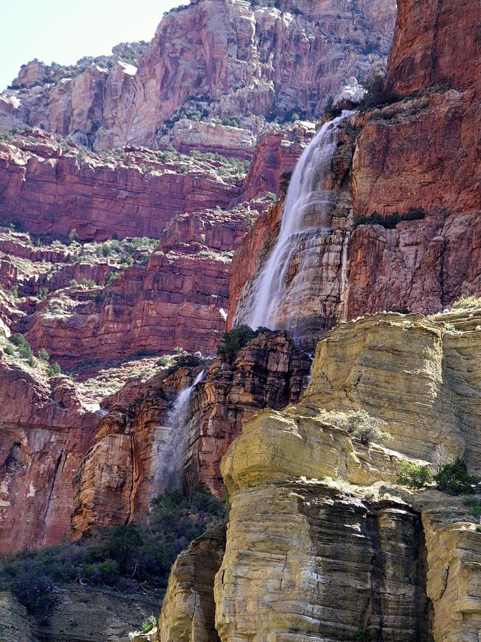 Cheyava Falls upper cascade - Grand Canyon