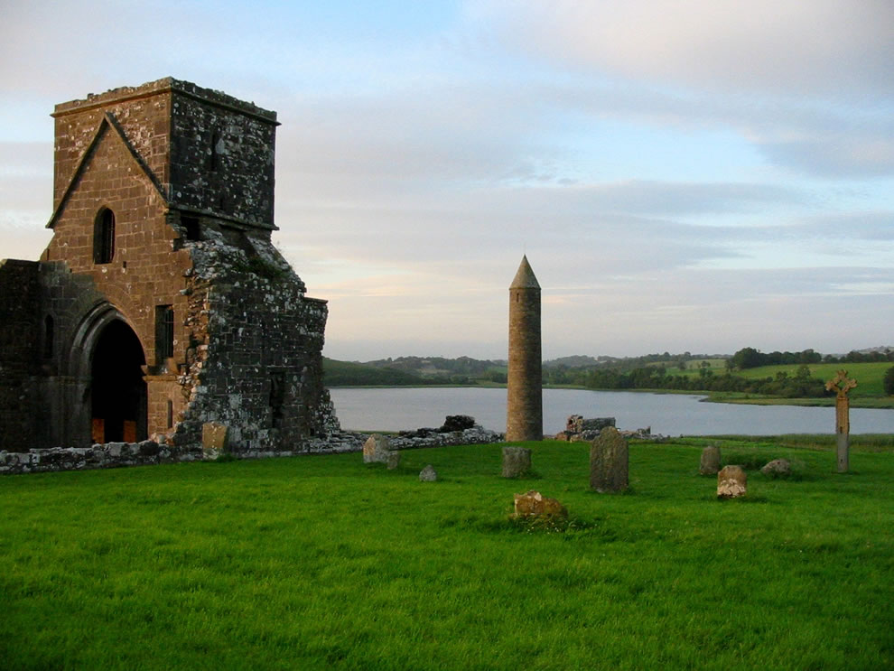 Ireland - St Patricks day Devenish Island ruins now