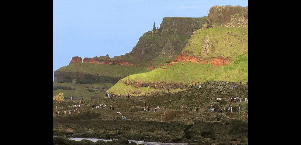 Giant's Causeway in Ireland now