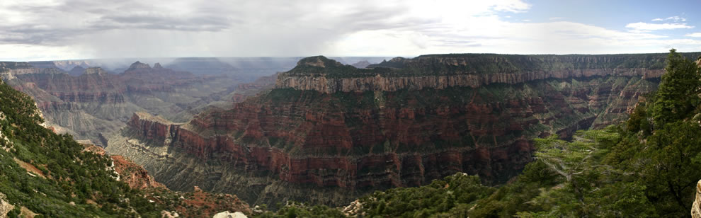 Grand Canyon North Rim Panorama