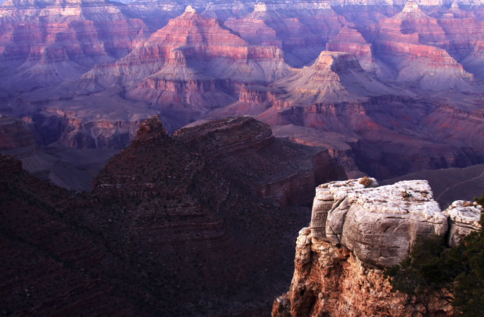Grand Canyon taken from Bright Angel