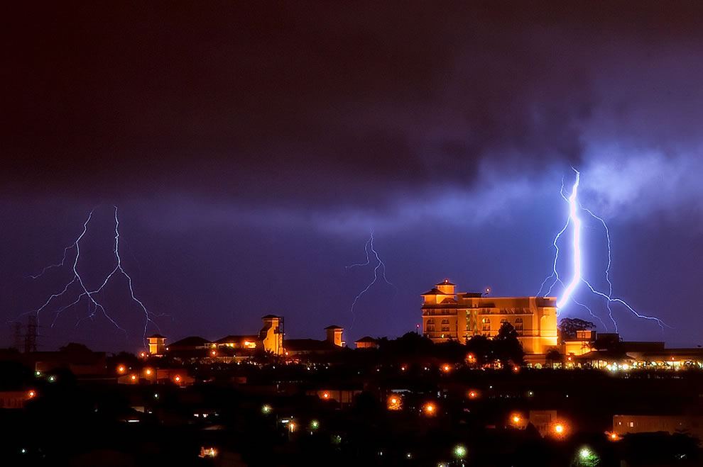 Lightning in Campinas