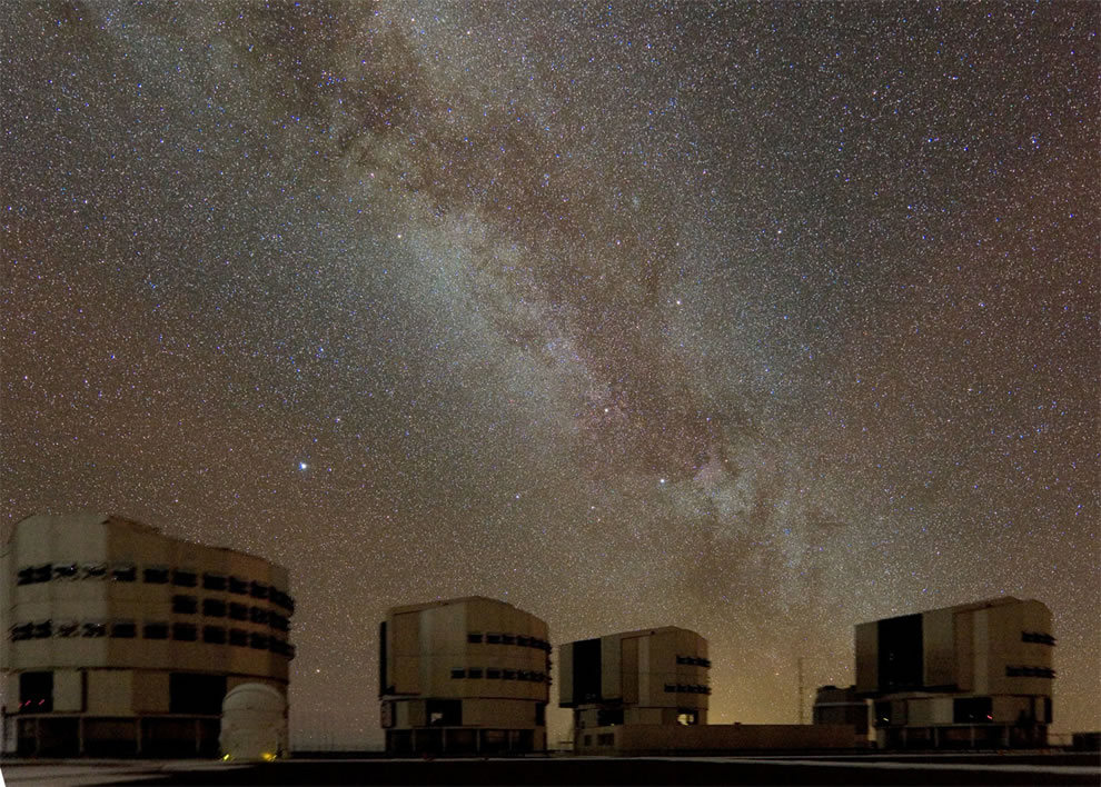 Milky Way above Paranal