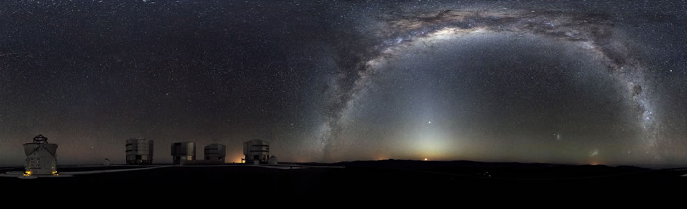 ESO - Rare 360-degree Panorama of the Southern Sky