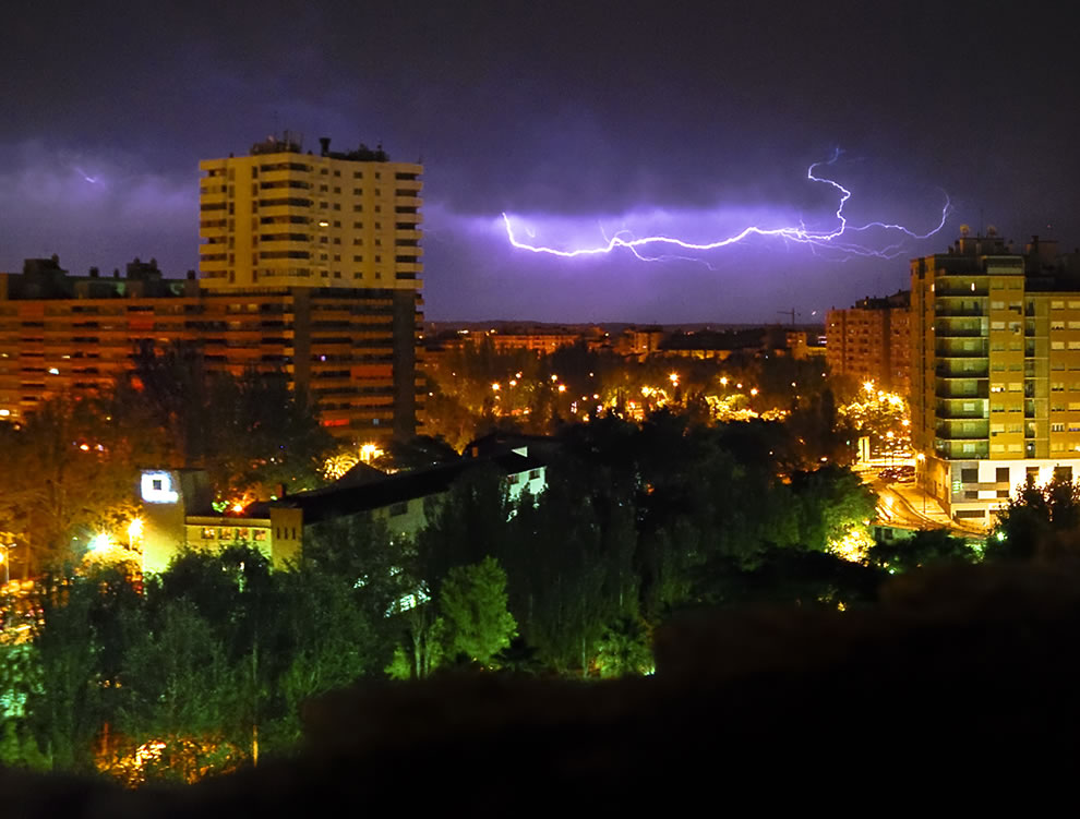 Summer Storm in Saragossa