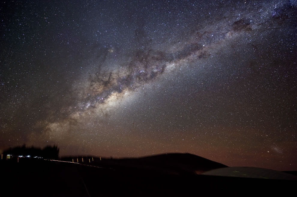 The Milky Way Shines on Paranal