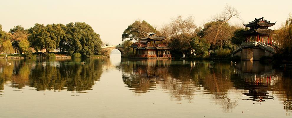 Chinese Gardens - West Lake, Hangzhou, China