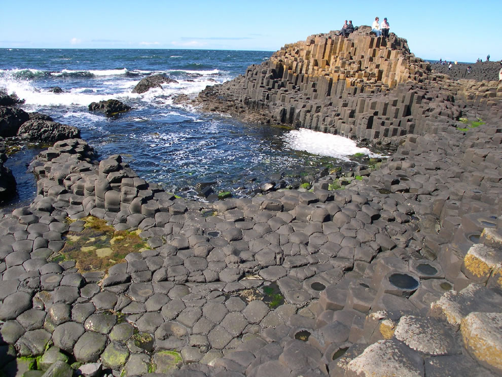 The Honeycombs, Giant's Causeway now