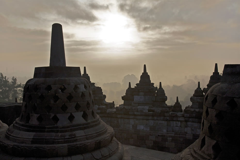Borobudur temple - Java