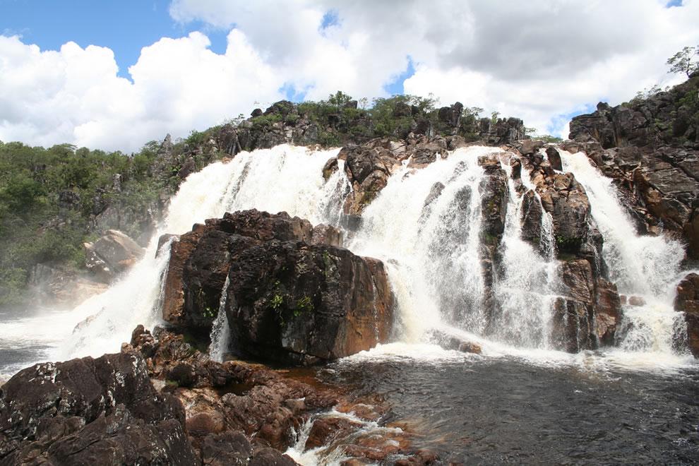 Cachoeira (Cariocas) Waterfall at Chapada dos Veadeiros National Park