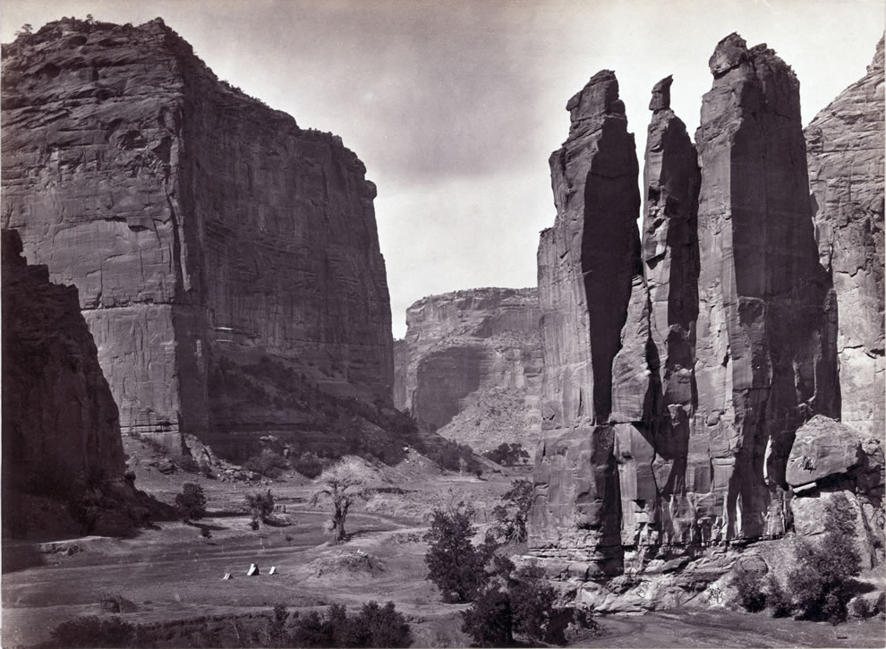 Canyon de Chelly, Arizona, USA - 1873