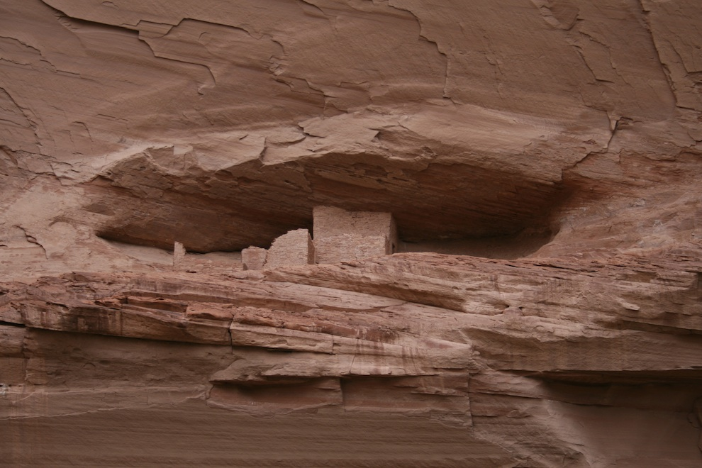 Canyon de Chelly Ledge Ruin Close View