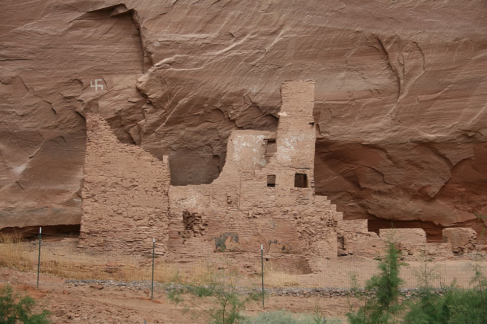 Canyon de Chelly National Monument, Arizona - Antelope House