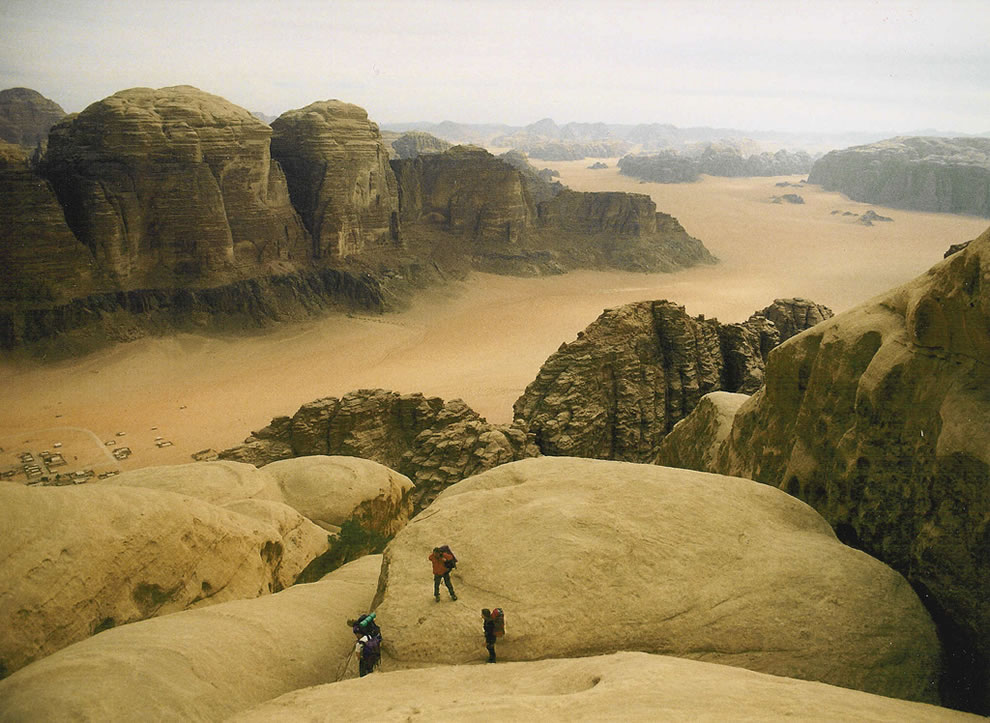 Jebel Rum descent