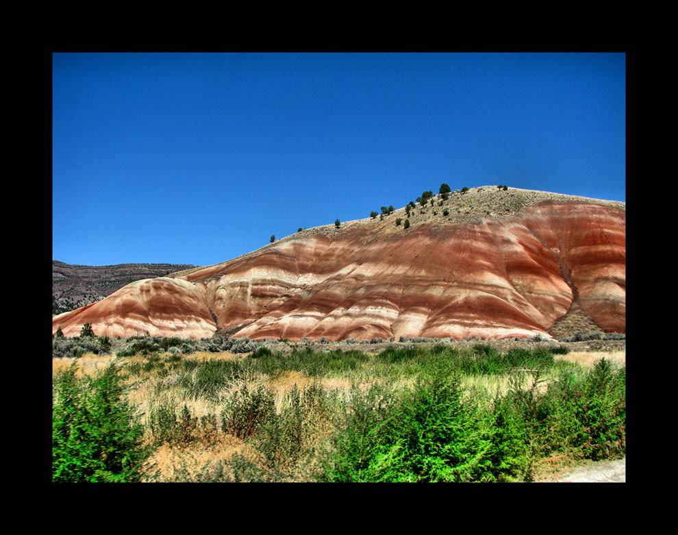 John Day Fossil Beds National Monument Painted Hills Unit