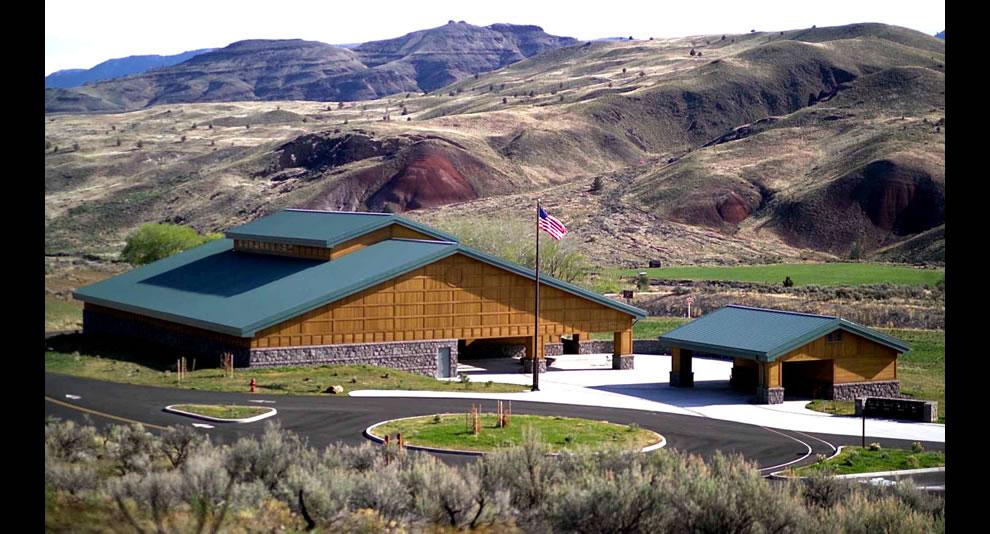 John Day Fossil Beds National Monument -  Thomas Condon Paleontology Center