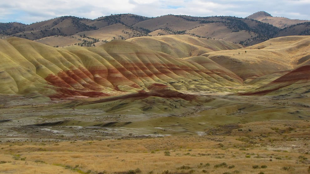 John Day National Monument is the maximum bang for your buck - odd landscape trip