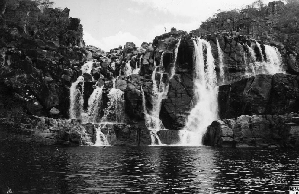 The National Park of Chapada dos located in the Chapada dos, northeastern state of Goias, Brazil