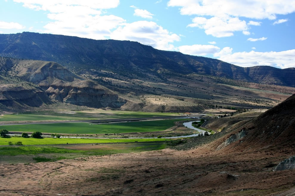 View of the John Day River Valley