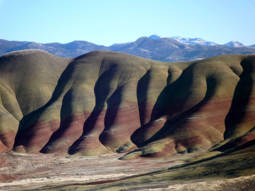 Waves of Color From the Painted Hills Unit of the John Day Fossil Beds National Monument in central Oregon