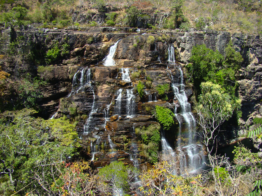 waterfall at Chapada dos Veadeiros