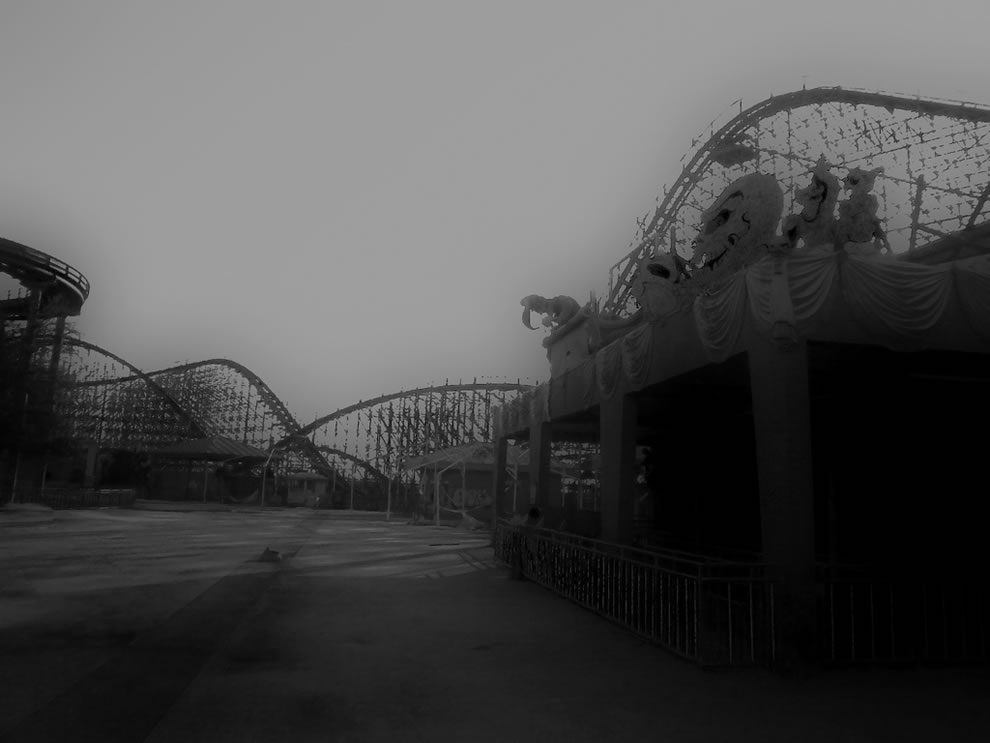 Like a Bad Dream - abandoned Six Flags