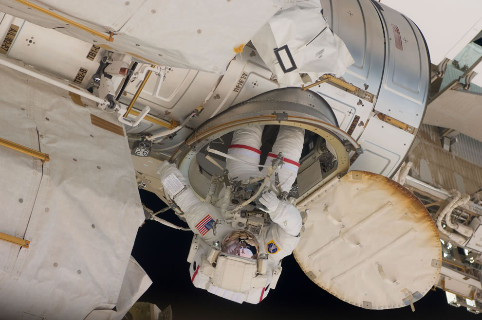 May 20 NASA astronaut Andrew Feustel, STS-134 mission