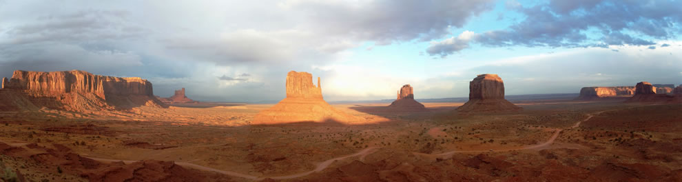 Monument Valley on Thanksgiving