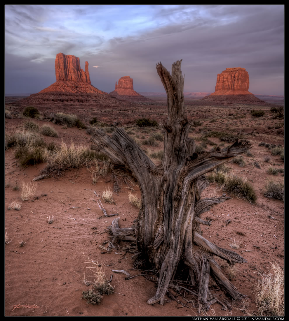 Navajo Sunset at Monument Valley