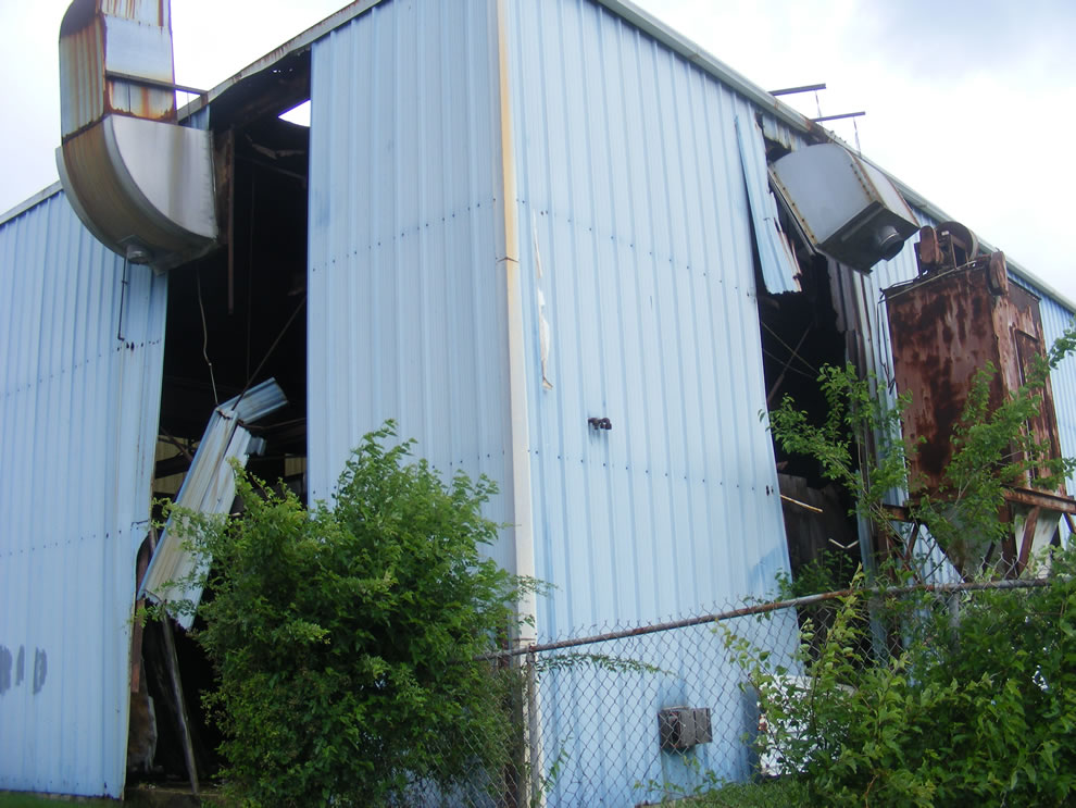 Not a tornado but something wicked ripped through Boonville Indiana on May 25 2011