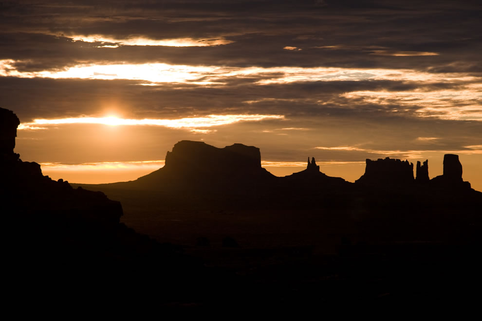 Sunrise at Monument Valley - Navajo Nation