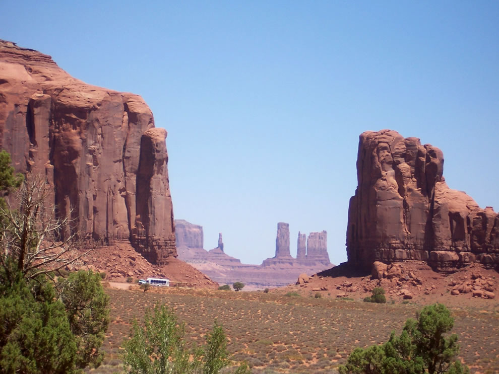 The North Window at Monument Valley