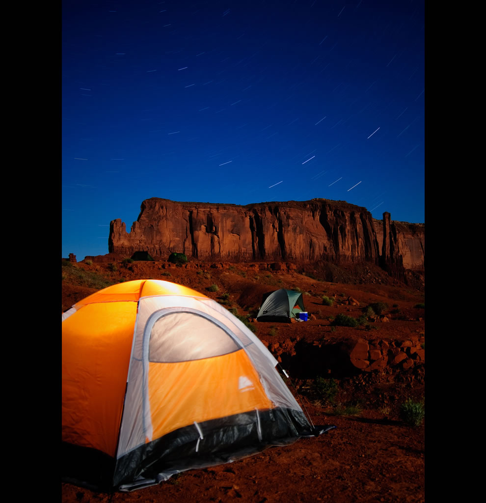 Under the Stars Camping in Monument Valley