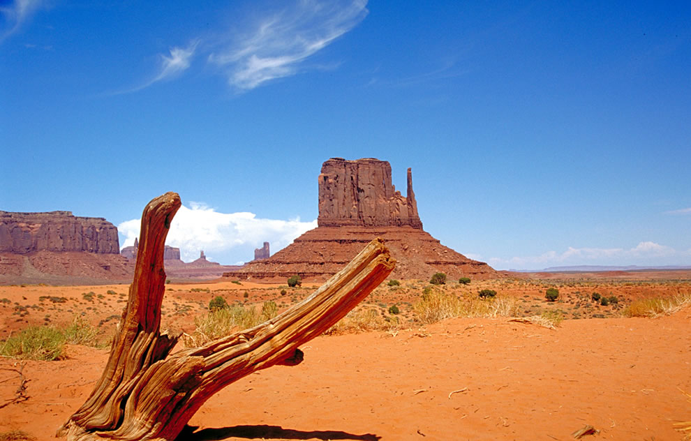 West Mitten at Monument Valley - Navajo National Parks